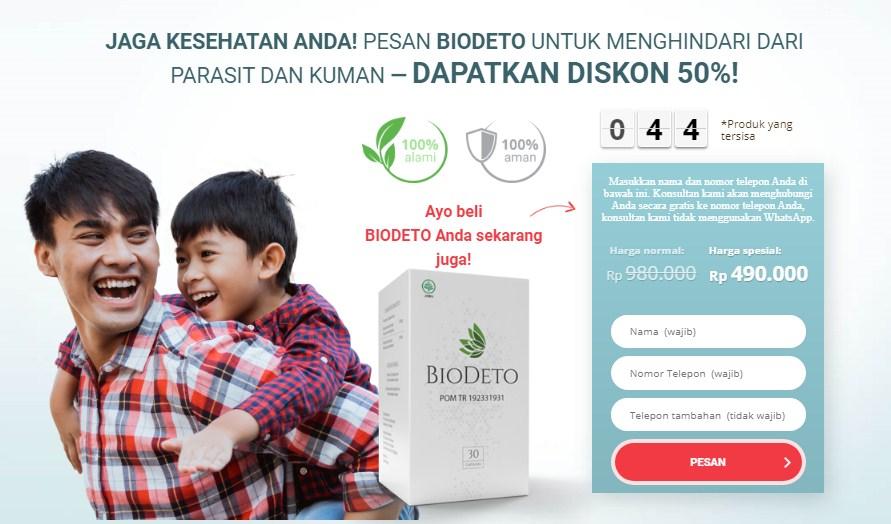 BioDeto Ulasan